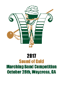 2017 Sound of Gold Marching Band Competition