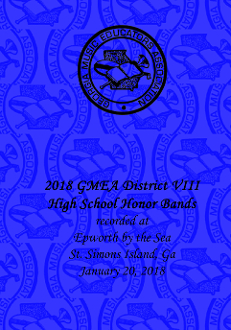 2018 GMEA District VIII  High School Honor Band Concert
